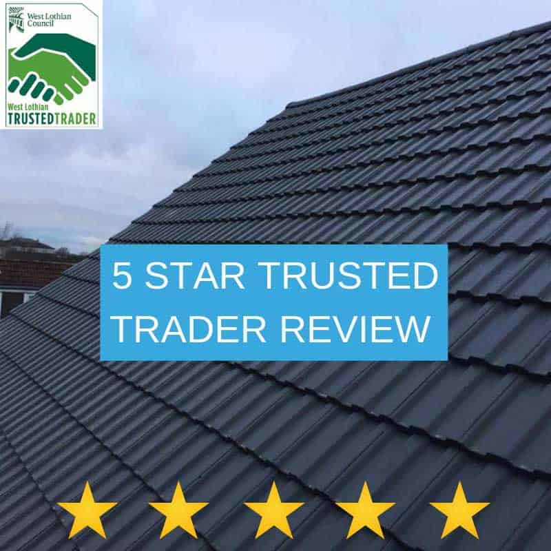 5 star customer review on Trusted Trader