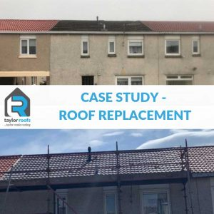 Roof replacement in Livingston, West Lothian - Case Study