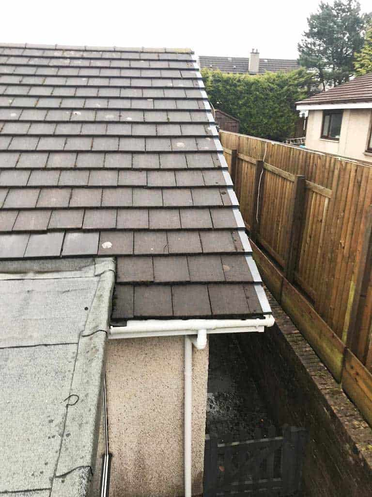 Residential Roof Replacement - Before Shot 1