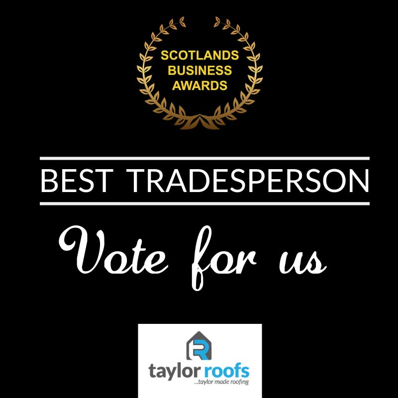 Scottish Business Awards - Taylor Roofs