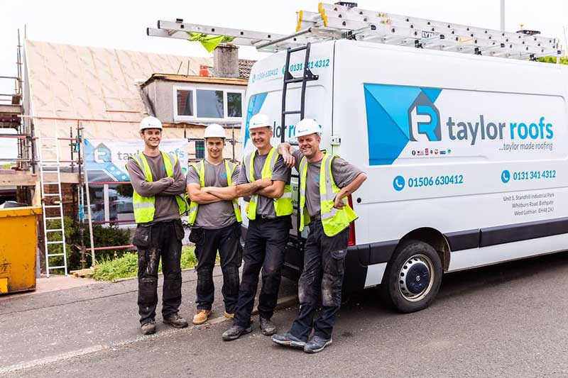 Taylo Roofs roofing team
